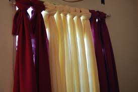 How To Make Your Own Kitchen Curtains by 20 Budget Friendly No Sew Diy Curtains Ideas