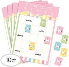 carousel baby shower pink carousel baby shower bingo party city canada