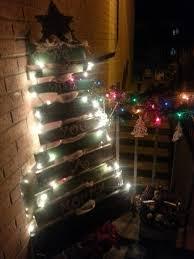 freckles u0027n u0027 family rustic wood christmas tree
