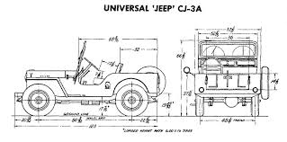 jeep body body builders dimension drawings