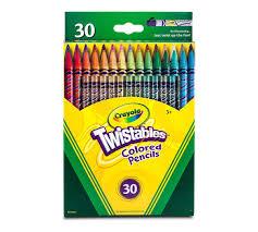 twistables colored pencils 30 count crayola