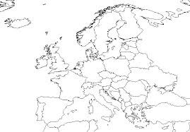blank map of europe europe maps blank map europe printable physical and political