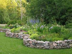 How To Build A Rock Garden Bed Gardening With Rocks Herbs Garden Herbs And Yards