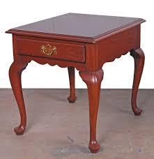 Henkel Harris Dining Room Furniture Henkel Harris Cherry Federal Style Side Table Ebth