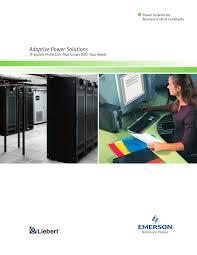 liebert ups power catalog vertiv pdf catalogue technical