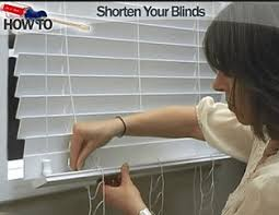 Shortening Faux Wood Blinds How To Shorten Blinds Window Faq The Finishing Touch