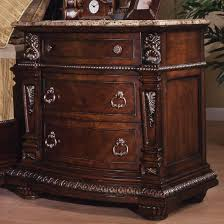 davis direct coventry traditional 3 drawer night stand with