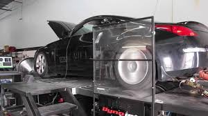 nissan 350z k n oil filter mishimoto nissan 350z performance intake testing youtube