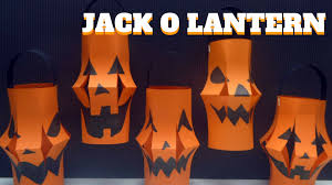 Halloween Crafts With Toilet Paper Rolls Halloween Craft Jack O Lantern Pumpkin Jack O Lantern Youtube
