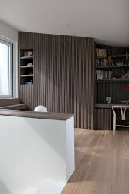 vertical wooden pattern japanese style apartment with the touch