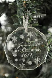 personalized christmas ornament laser engraved by mrcwoodproducts