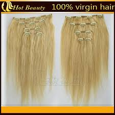real hair extensions clip in wave golden real hair clip in hair extensions for