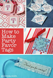 party favor labels how to make party favor tags the favor stylist