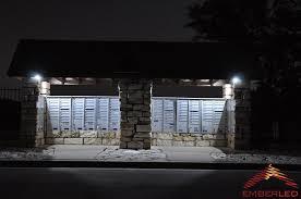 Lights In Soffit Outside by Soffit Lighting Powered By Solar Led Lights Ember Led Ember