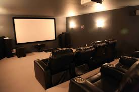chad and perri u0027s basement remodel creates a home theater in
