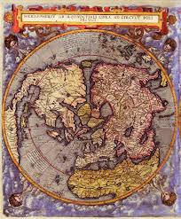 World Map Hemispheres by World Map 16th Century World Maps Of The Northern And Southern