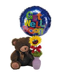 get well soon and balloons get well soon and ballons at from you flowers