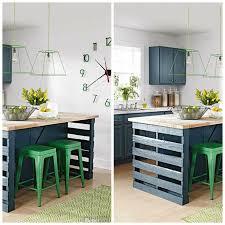 faire plan de cuisine superior plan de cuisine avec ilot 5 206lot central en palette