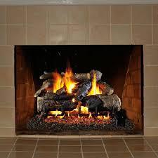 24 u0027 u0027 peterson real fyre charred american oak vented gas log kit