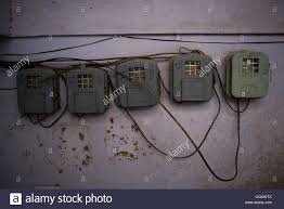 electricity meter boxes in a building of amritsar india jordi