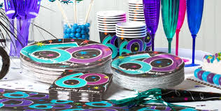 the party supplies the party continues 60th birthday party supplies party city