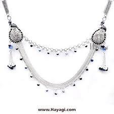 jewelry indian necklace images Key challa mekhala in silver finish challa fashion jewellery india ha jpg