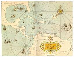 Map Of The Carribean Pirates Of The Caribbean The Spanish Main