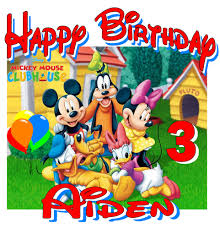 new personalized custom mickey mouse clubhouse birthday t shirt