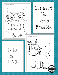 dot to dot 1 10 and 1 20 freebies your therapy source