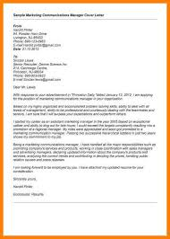 marketing director cover letter sample sample customer service