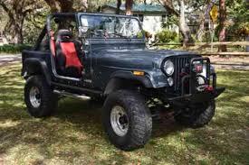 charcoal black jeep jeep cj charcoal black red 1981 jeep cj 7 all steel used