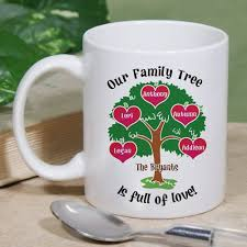 heart shaped mugs that fit together 23 best family tree gifts images on family trees