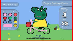 peppa pig coloring peppa pig colouring pictures game