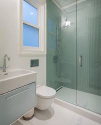linear shower drain bathroom contemporary with beveled mirror