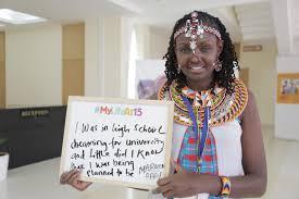 statement from girls not brides on first african girls u0027 summit