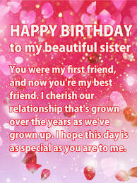 birthday cards for sister birthday u0026 greeting cards by davia