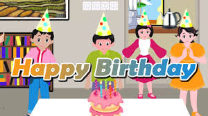 Happy Birthday Wishes In Songs Happy Birthday Song Nursery Rhymes For Kids Cartoon Animation