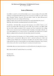 motivation letter 3 motivation letter for it application format of acv