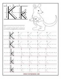 printable letter k tracing worksheets for preschool printable