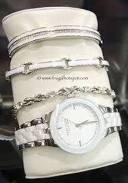 anne klein bracelet set images Costco sale anne klein new york ceramic watch and bracelet set jpg