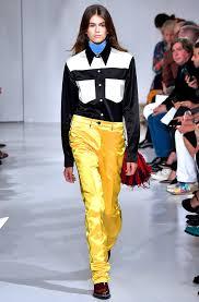 Fashion Model Resume Kaia Gerber U0027s Model Milestones Fashion Week