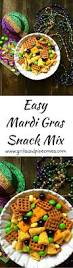 easy mardi gras snack mix grits and pinecones