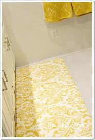 Damask Bath Rug Amazing Of Damask Bath Rug With Yellow And Grey Bathroom Rugs