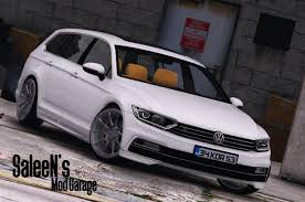 volkswagen passat r line blue 2016 volkswagen passat variant r line b8 add on replace gta5