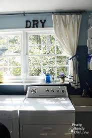 ideas for laundry room paint wooden letters wash dry install
