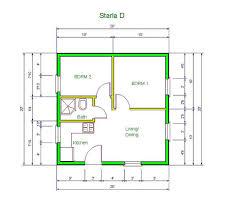 Best 20 Tiny House Kits by 11 Tiny House Plans 12x24 12 X 20 Cabin Floor 1224 19 Planskill