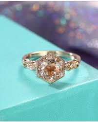 morganite bridal set shopping s deal on morganite ring vintage