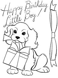 birthday coloring pages boy birthday boy coloring pages happy 3rd birthday coloring pages