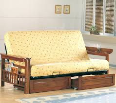 wood futon frame only plans solid queen 4511 interior decor