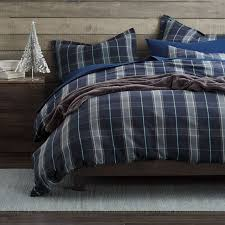 Flannel Duvet Sets Plaid Duvet Covers To Give Warmth Med Art Home Design Posters